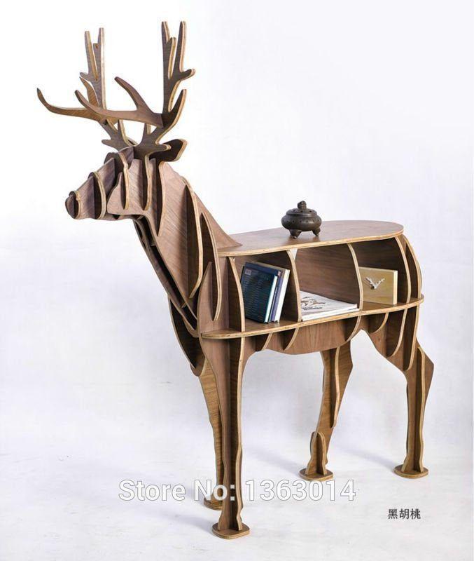 Deer Shelf.Laser cut files SVG DXF CDR vector plans,files Instant download,cnc pattern 56 cnc cut