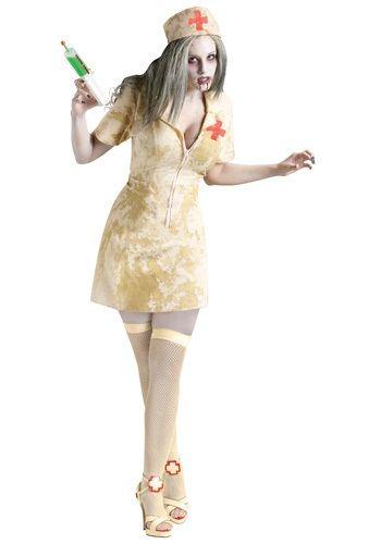 Sexy Zombie Nurse Costume