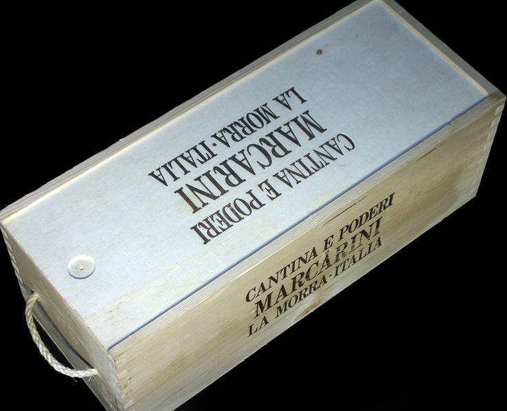 Cantina Poderi Marcarini Single Magnum Wine Crate