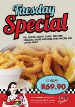 Tuesday Special | Joe's Easy Diner