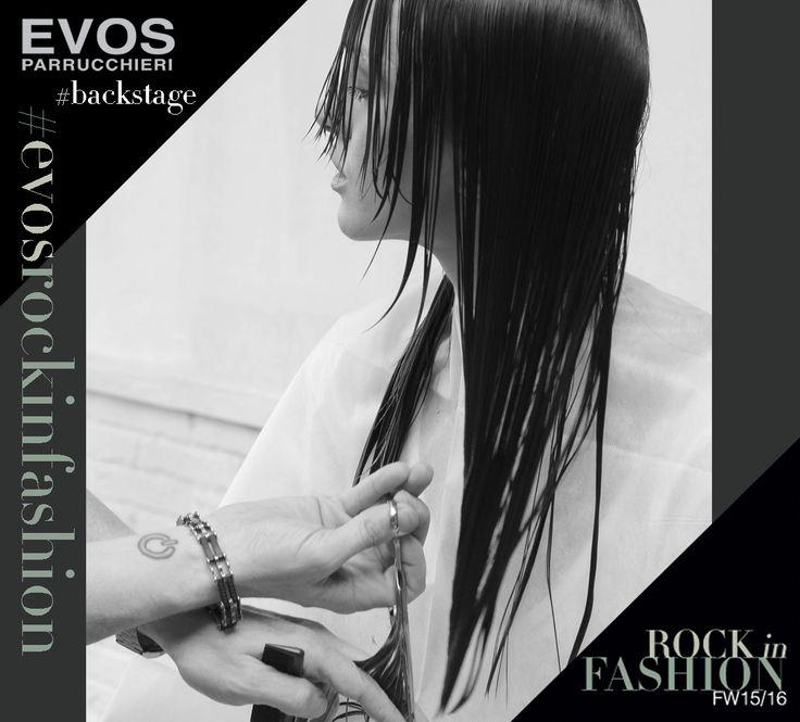 #EVOSROCKINFASHION #SCALATURE scatti rubati, #backstage della nuova collezione @EVOS_italia   http://www.facebook.com/evos.parrucchieri