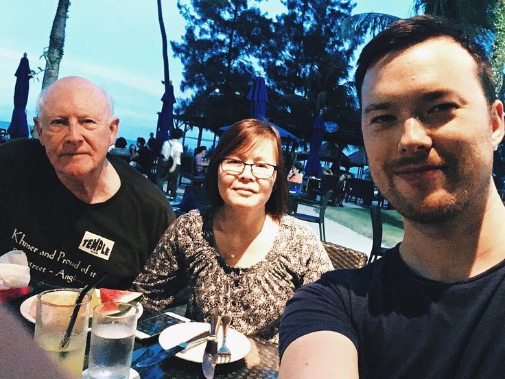 Dinner with the parents #latergram