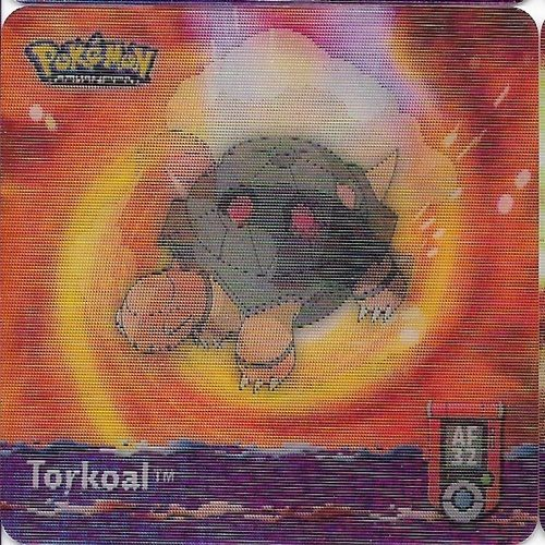 Pokemon Torkoal Action Flipz - Pokemon Advanced Series Artbox 5262-32