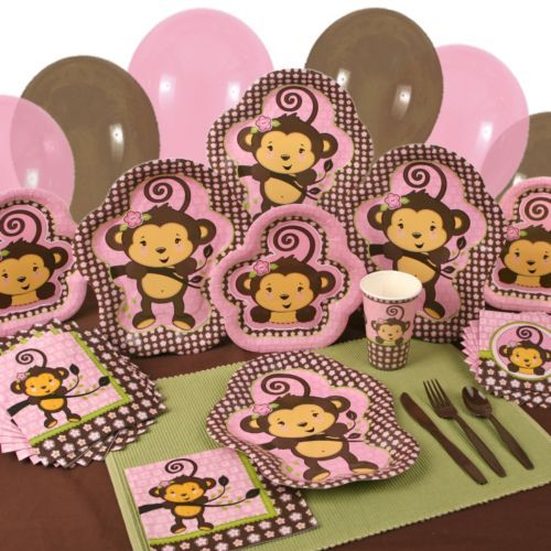 Monkey Baby Shower Party Favors: Monkey Girl (Baby Shower Or Birthday Party