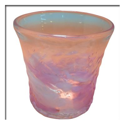 琉球ガラス でこぼこロックグラス