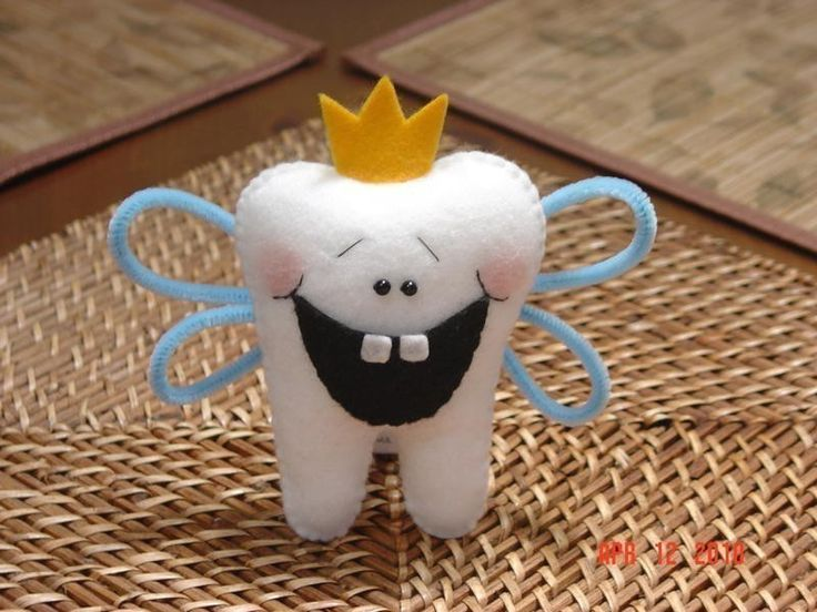 Tooth+Fairy+Pillow+Pal+by+simplysweetgifts+on+Etsy,+$8.99