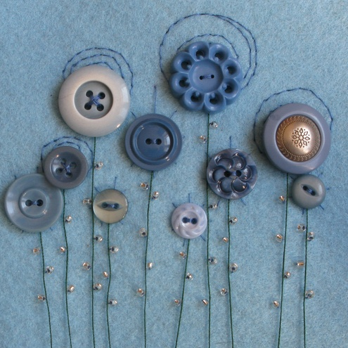 blooming buttons - I've actually done something similar already, which was published in a magazine thousands of years ago. : )