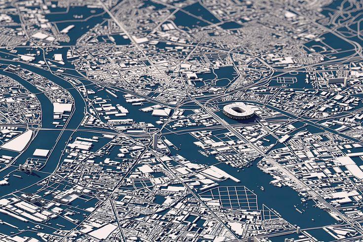 UEFA Euro 2016 - City Maps on Behance
