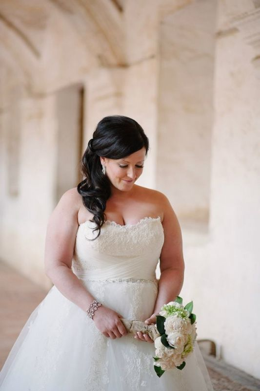 Wedding Hairstyles For Plus Size Brides Wedding
