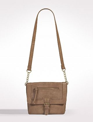 Zip Pocket Crossbody Bag 6