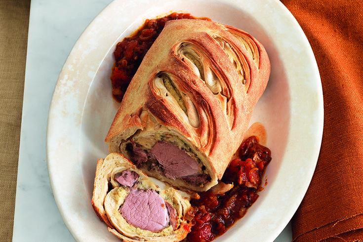 Ricetta Filetto di maiale marinato in crosta con purè di fave - La Cucina Italiana: ricette, news, chef, storie in cucina
