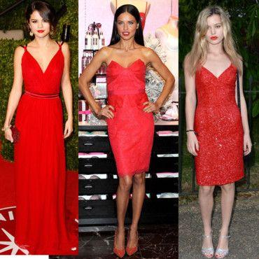 robe rouge stars