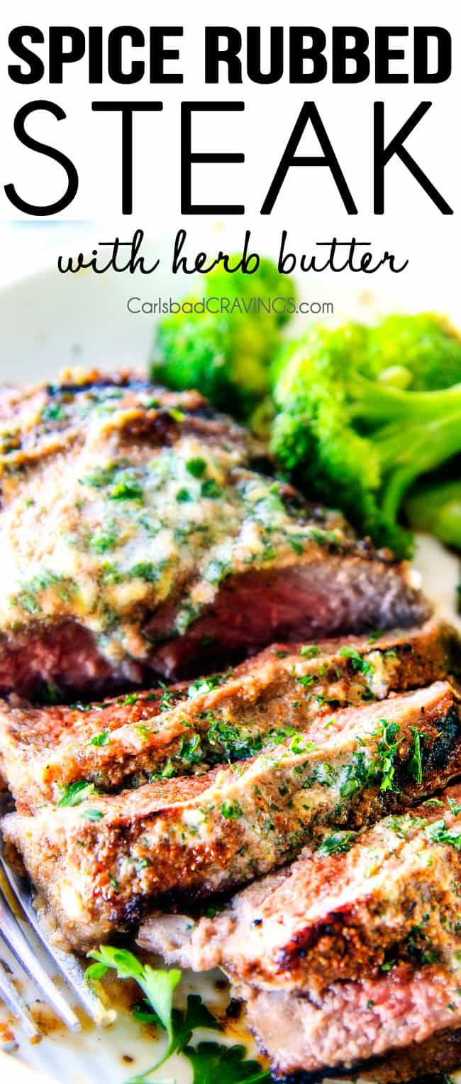 how to make garlic herb butter for steak