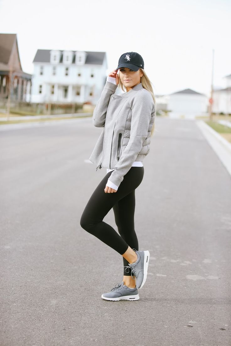 Hat - Nike | Top - Lulu Lemon | Leggings - Lulu Lemon | Sports bra - Forever21 | Shoes - Nike | Jacket - Nike