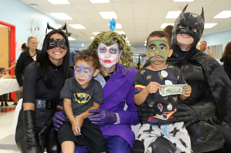 Kim, we're so glad you passed along this cute Batman costume pick! Joker and Batman available to rent or buy :)