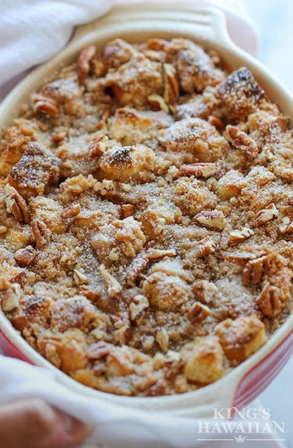 Baked Pumpkin Cream Cheese French Toast only means delicious post-Thanksgiving breakfast.