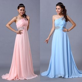 china wholesale Sexy Shinning Wedding Elegant Evening Cocktail Ball Prom Gowns Long Dress
