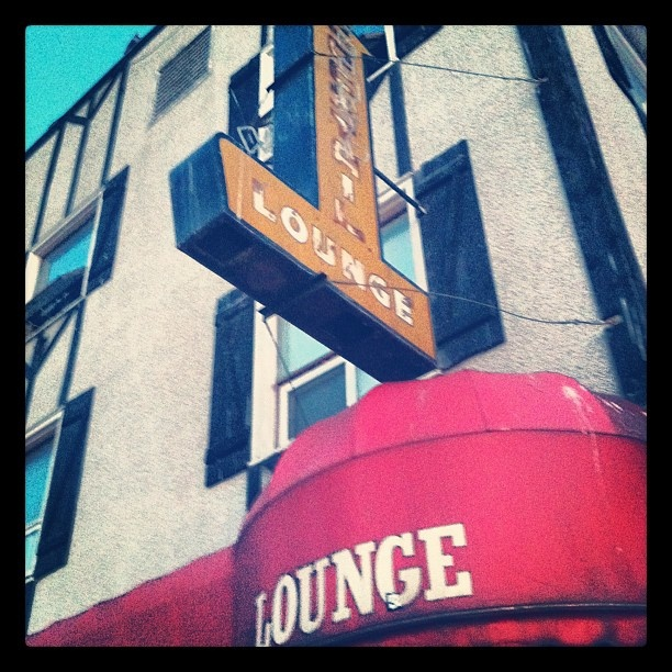 The famous Gold Range lounge in Yellowknife - not for the faint of heart!