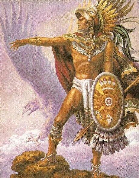 *La leyenda del volcán Popocatépetl y el Iztaccíhuatl*