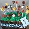 Baby Safari Animals Cake Pops Monkeys Lions Tigers Zebras Giraffes Cake Pops Baby Shower
