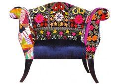 Bokja - sofa w stylu folk