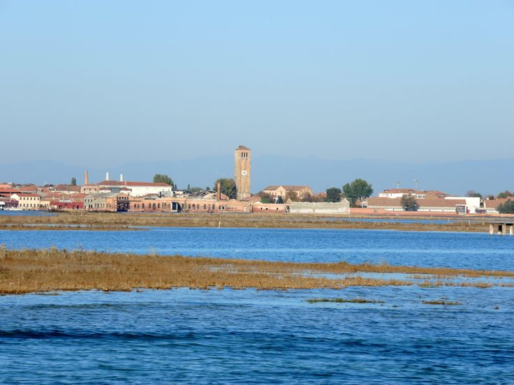 A view of Murano in the distance