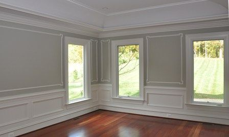 Adding Elegance To Your Walls With Trim On Pinterest
