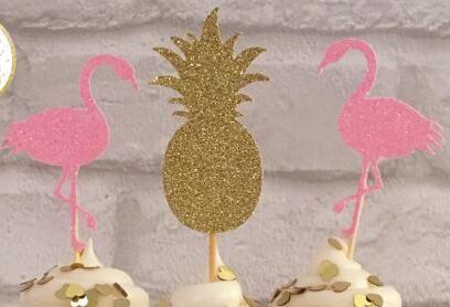 Günstige Glitter flamingo ananas tropical party kuchen deckel Geburtstag hochzeit braut baby dusche zahnstocher, Kaufe Qualität Kuchen Dekorieren Lieferungen direkt vom China-Lieferanten: Glitter flamingo ananas tropical party kuchen-deckel Geburtstag hochzeit braut baby-dusche zahnstocher