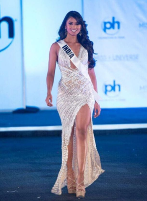 da7aa4e90c8d PHOTOS: Miss Universe 2017: Miss India Shraddha Shashidhar's looks at the  pageant, will she bring home the crown too? | The Indian Express| Page 2