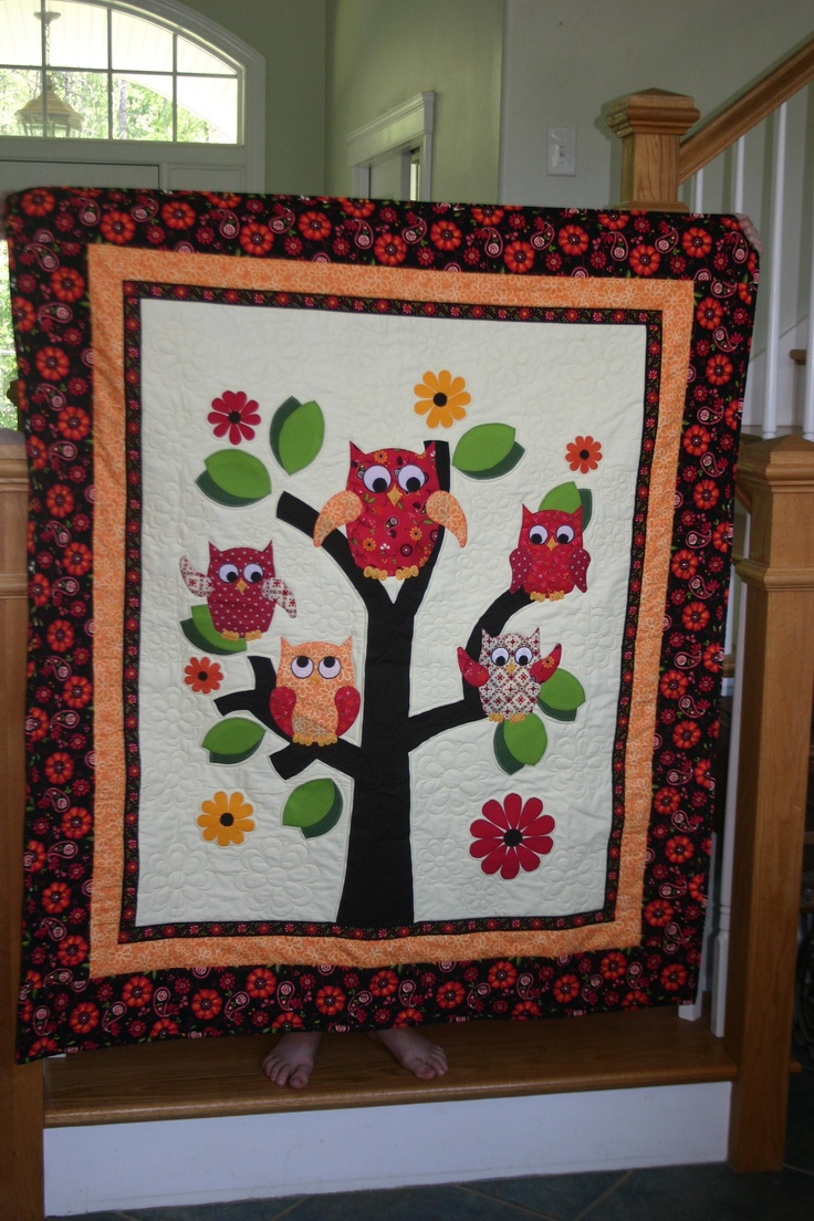 Best 25 Owl Baby Quilts Ideas On Pinterest Baby Quilt