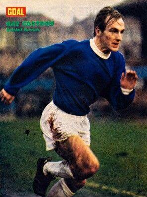 Ray Graydon of Bristol Rovers in 1971.