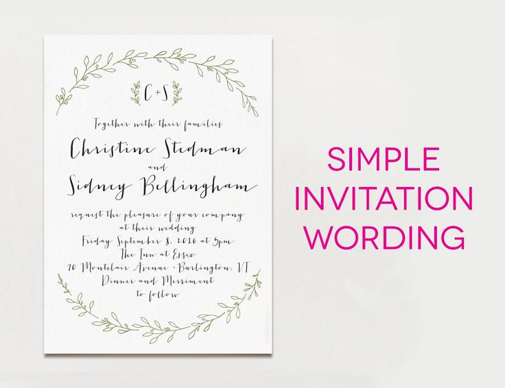 115 best Wedding Invitation Templates images – Templates for Invitation