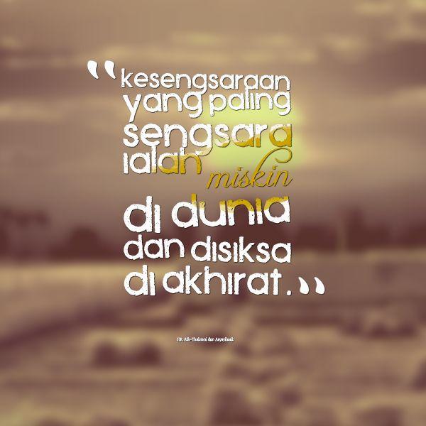 internet marketing syariah indonesia -seminar - workshop - kelas bisnis - konsultan - seo - kesengsaraan-yang-paling-sengsara-ialah-miskin-di-dunia-dan - http://internetmarketingsyariah.com