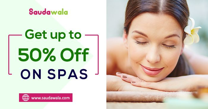 SATURDAY SUPER SAVER: Get up to 50% Off #Spas. #beautycare #deals #discount #spa