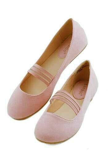 Ballerines Chaussures De Ballerine Pour Les Femmes En Vente, Rose Naturel, Cuir, 2017, 2,5 3,5 4,5 Anna Baiguera