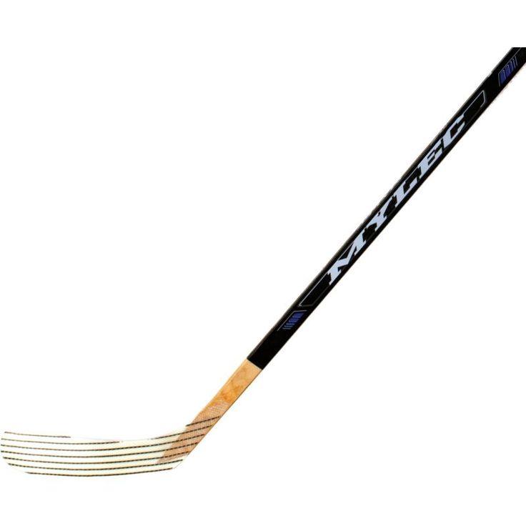 Mylec Junior MK3 ABS Street Hockey Stick, White