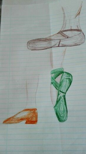 Ballet scetches by Caro Botha