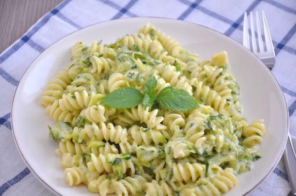 Summertime Staple - Creamy And Light Zucchini Pasta