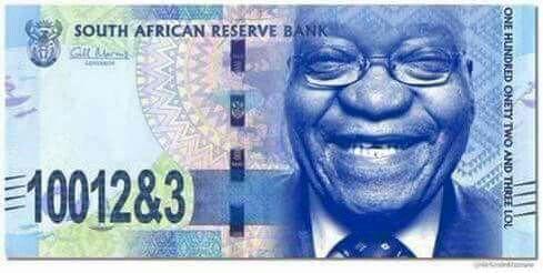 Die nuwe geld eenheid...