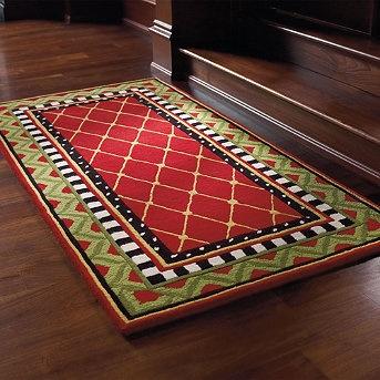 Cute Christmas rug!