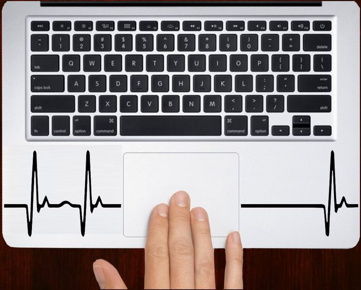 "Heartbeat m407 Design Keyboard Decal Sticker Vinyl For Macbook Pro Air Retina 11"" 13"" 15"" 17"" Inch Laptop Cover by DecalOnTop on Etsy https://www.etsy.com/listing/223190647/heartbeat-m407-design-keyboard-decal"