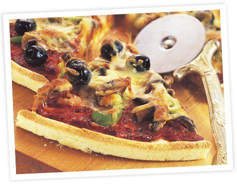 Gluten Free Pizza | Healthy & Gluten Free Recipes