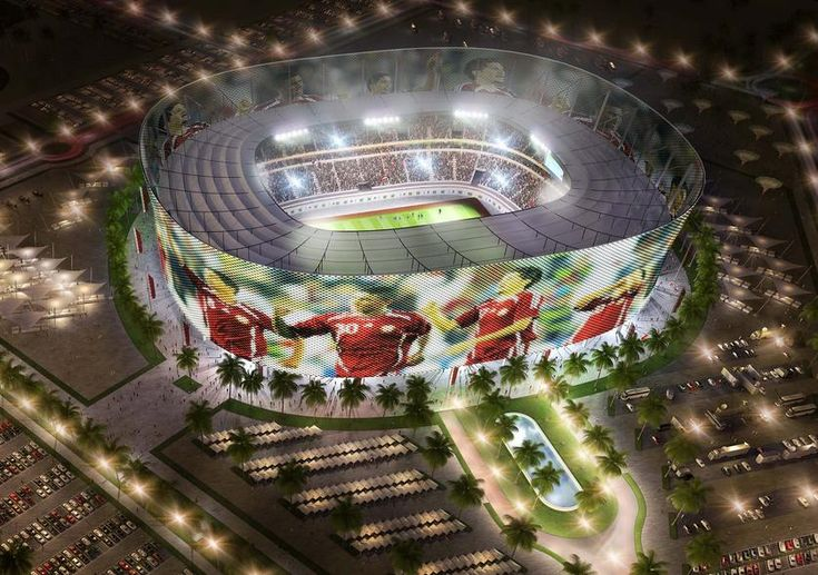 Al Rayyan : 44740 places. Near Doha. Soccer / Football