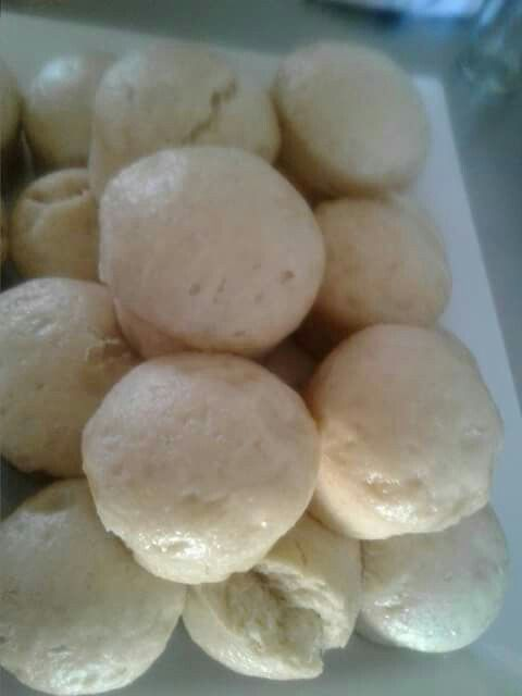 South African Dumplings - Amadombolo (Steamed breads). Ilki - Food done chic!