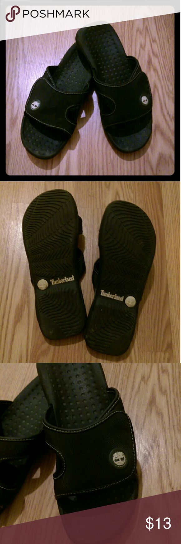 Men's Timberland Velcro Sandals Size 10M Worn with love Timberland Shoes Sandals & Flip-Flops