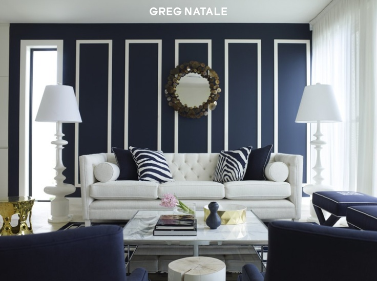navy wall and an amazing work of GN