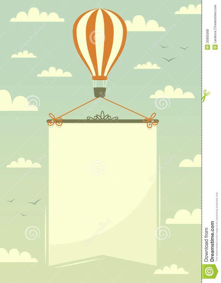 hot-air-balloon-banner-vector-illustration-35805068.jpg 1,019×1,300 pixels