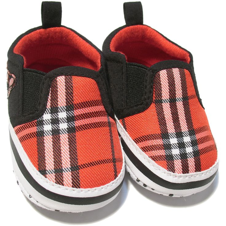 Vauvanvaatteet ja lastenvaatteet - Vauvan kengät, skottiruutu, 0-12kk