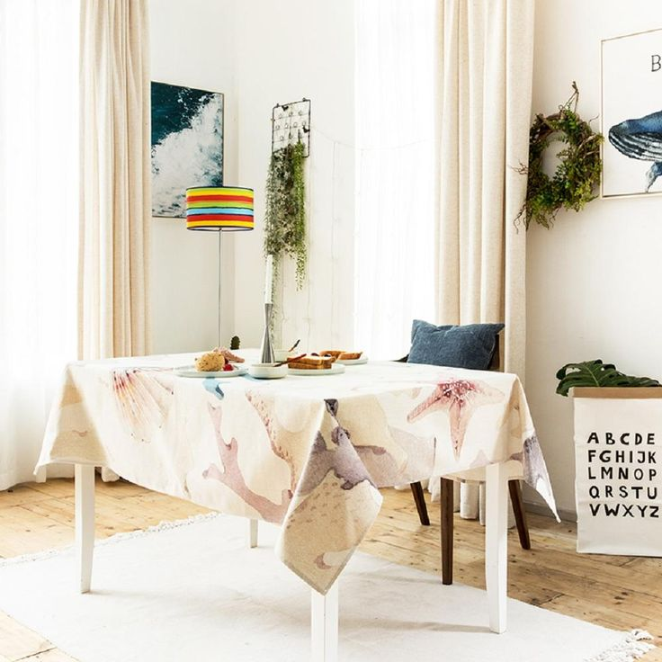 Coral Sea World Indoor / Outdoor Tablecloth