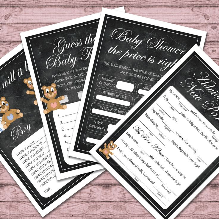 Baby Shower Games - Printable - Print At Home -  Cute Baby Shower Games - Printable Baby Shower Games by PaperCrushAus on Etsy
